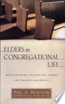 Elders In Congregational Life Newton