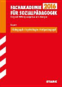 Abschlussprüfung Fachakademie Bayern Pädagogik, Psychologie, Heilpädagogik