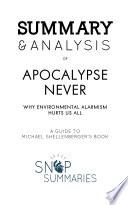 Summary Analysis Of Apocalypse Never