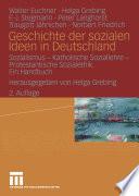 Geschichte der sozialen Ideen in Deutschland
