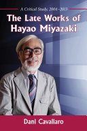 The Late Works of Hayao Miyazaki Book