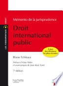 Les Fondamentaux M Mento De La Jurisprudence Droit International Public