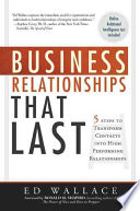 Business Relationships that Last
