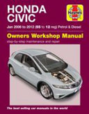 Honda Civic Petrol And Diesel Owner S Workshop Manual