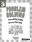 Problem Solving Grade 3 Flash Skills  book