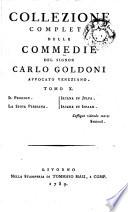 Collezione completa della commedie del Signor Carlo Goldoni