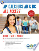 AP   Calculus AB   BC All Access Book   Online