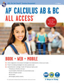 download ebook ap® calculus ab & bc all access book + online pdf epub