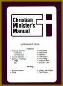 Christian Minister S Manual