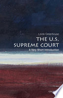 The U S  Supreme Court  A Very Short Introduction