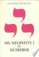 Neophyti 1, Targum Palestinense ms. de la Biblioteca Vaticana: Números