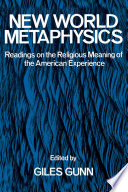 New World Metaphysics