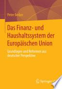 Das Finanz  und Haushaltssystem der Europ  ischen Union