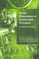 Social Dimensions of Sustainable Transport