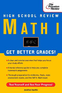 High School Math I Review