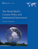 download ebook the world bank\'s country policy and institutional assessment pdf epub