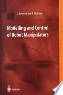 Modelling and Control of Robot Manipulators
