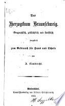 Das Herzogthum Braunschweig