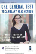 GRE General Test Vocabulary Flashcards