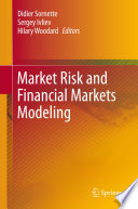 Market Risk and Financial Markets Modeling