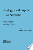 Heidegger And Jaspers On Nietzsche