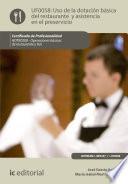 Uso de la dotación básica del Restaurante y asistencia en el Preservicio. HOTR0208