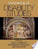 Handbook of Disability Studies