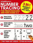 Number Tracing For Preschoolers And Kids Ages 3 5