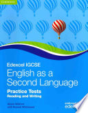 Edexcel International GCSE English as a Second Language Practice Tests Reading and Writing