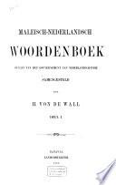Maleisch-Nederlandsch woordenboek