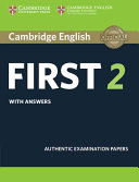 Cambridge English First 2 Student s Book with answers