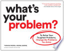 What s Your Problem  Book PDF