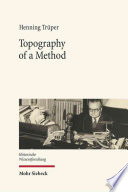 Topography of a Method
