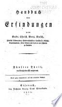 Handbuch der Erfindungen