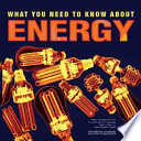 What You Need to Know About Energy