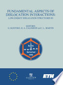 Fundamental Aspects of Dislocation Interactions