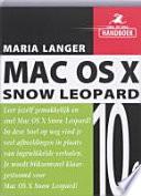 Snel Op Weg Mac Os X 10 6 Snow Leopard