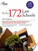 The Best 172 Law Schools 2011