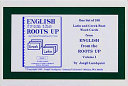 English from the Roots Up Flashcards