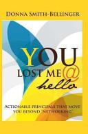 You Lost Me Hello