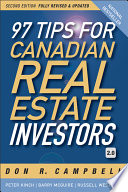 97 Tips for Canadian Real Estate Investors 2 0