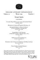 English Literary Renaissance : ...