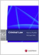 Criminal Law Study Guide