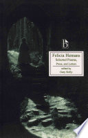 Felicia Hemans  Selected Poems  Prose and Letters