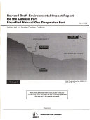 Revised Draft Environmental Impact Report For The Cabrillo Port Liquefied Natural Deepwater Port book