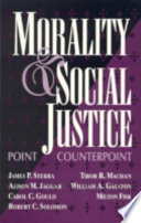 Morality And Social Justice book