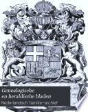 Genealogische en heraldische bladen