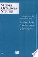 Ethnizität in der Transformation