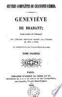 Geneviève de Brabant