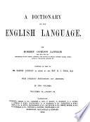 A Dictionary of the English Language Book PDF